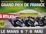 Autoroutes gratuites et relais Calmos pour le Grand Prix de France.