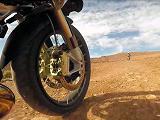 Essai du pneu trail Bridgestone A41.