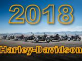 Toute la gamme Harley-Davidson 2018.