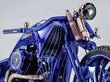 L'horloger-joaillier Bucherer crée la Harley-Davidson Blue Edition.