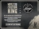 Battle of The Kings 2017 - Ouverture des votes pour la France.