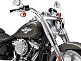 Coup de fun pour la Harley 1745 Fat Boy 2018.