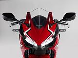 Gentille attaque avec la Honda CBR 500 R 2019.