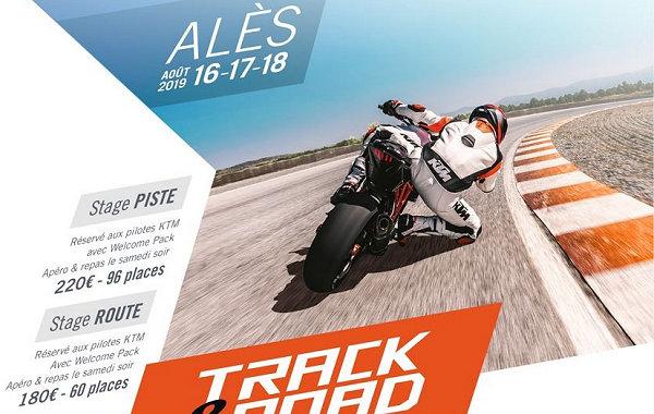 KTM lance le Track & Road, gros week-end de stage à Alès.