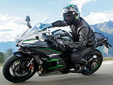 Kawasaki remet la route sous pression avec la H2 SX SE +.
