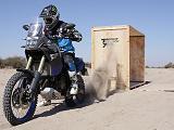 Le proto de la Yamaha 700 Ténéré découvre l'Argentine.