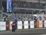 MotoGP / Qatar - Viñales victorieux, Zarco chaud 'show' !