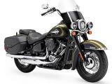 Vastes horizons 2018 pour la Harley Softail Heritage Classic.