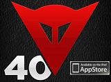 Dainese ouvre ses archives avec l'appli gratuite Dainese 40.