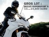 Gagnez la Ducati Supersport S avec Louis-Moto.