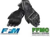 Port des gants obligatoire - Vif échange entre la FFM, la FFMC et le Gouvernement.