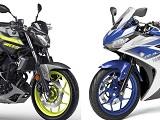 Double rappel pour les Yamaha MT03 et YZF-R3