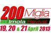 Les prochains 200 Miglia di Imola Revival du 19 au 21 Avril 2013.