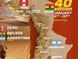 La parcours du Dakar 2018 en détails.