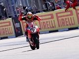 WSBK / Aragon Course 2 - Première victoire pour Davies et Ducati.