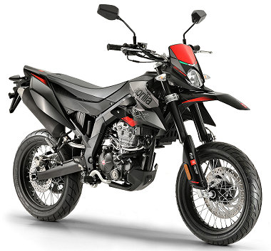 moto Aprilia SX 1252018
