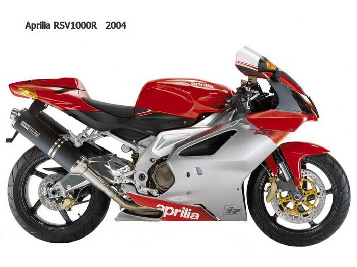 Aprilia RSV-R 1000 2005 - 4