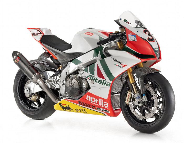 Aprilia RSV4 1000 Biaggi Superbike Replica 2010 - 9