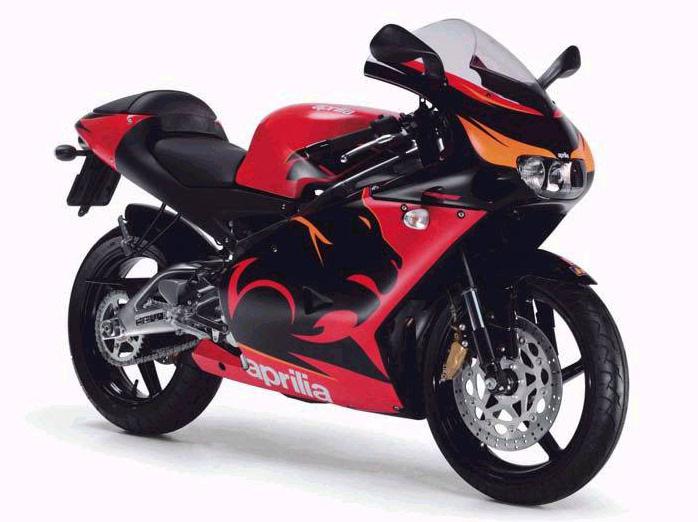 aprilia rs 125 2005 fiche moto motoplanete. Black Bedroom Furniture Sets. Home Design Ideas