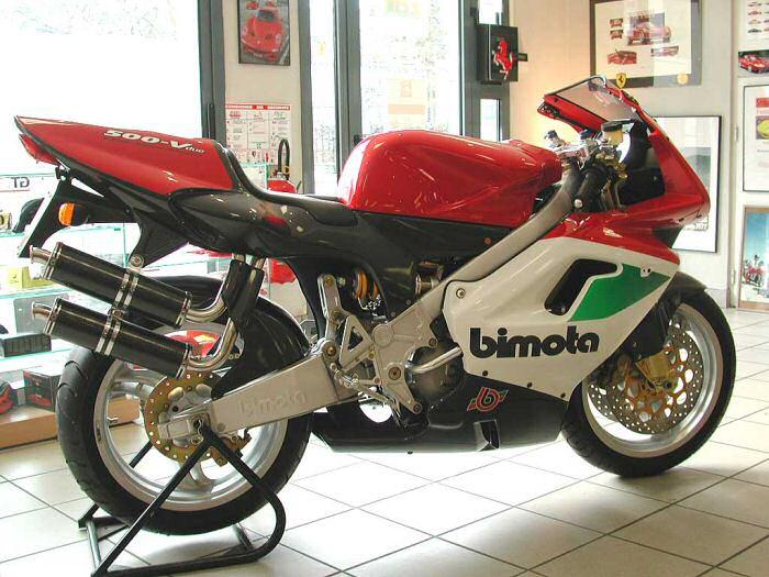 Bimota 500 V-DUE Corsa 1999 - 16