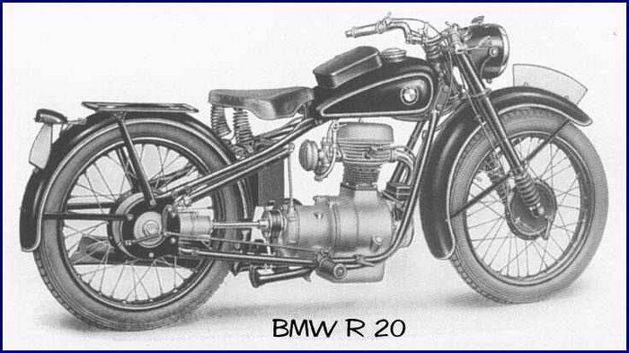 BMW R20 1938 - 2