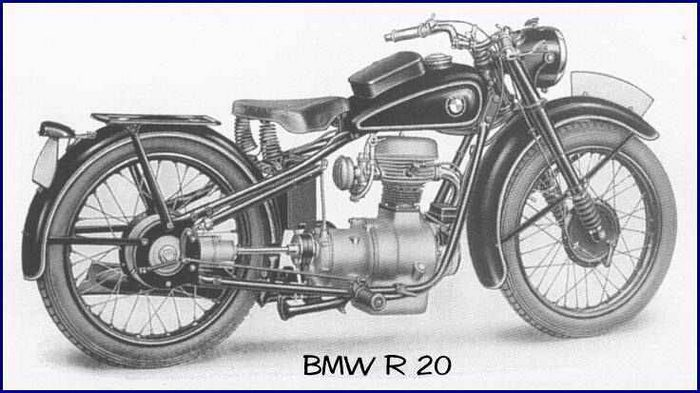 miniature BMW R20 1938 - 2