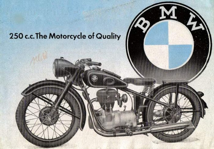 miniature BMW R24 1950 - 1