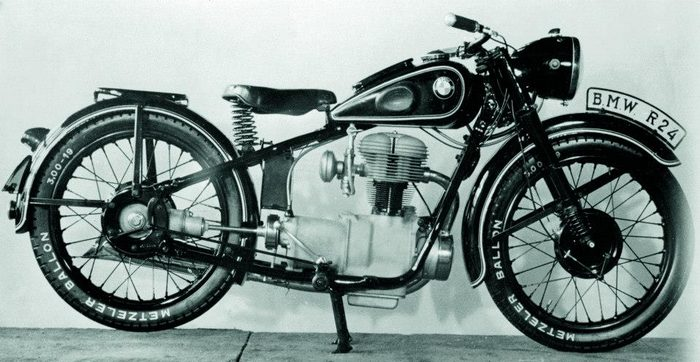 miniature BMW R24 1950 - 5