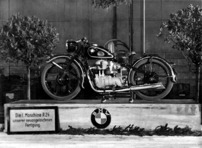 miniature BMW R24 1950 - 11