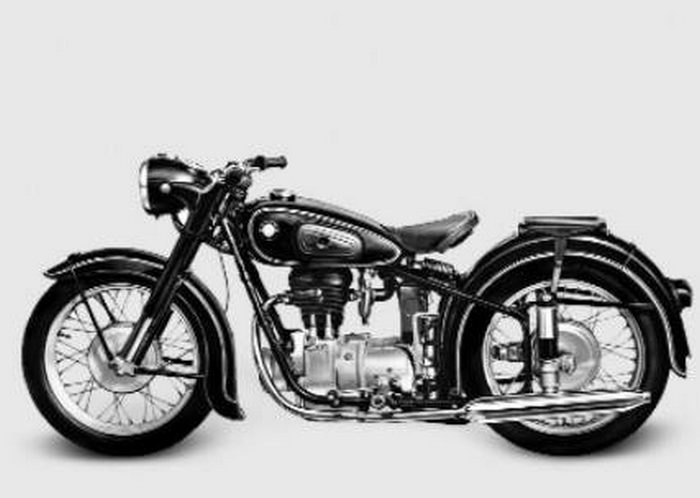 miniature BMW R25/3 1953 - 3