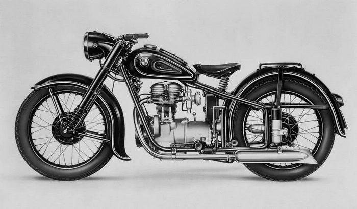 BMW R25 1950 - 4