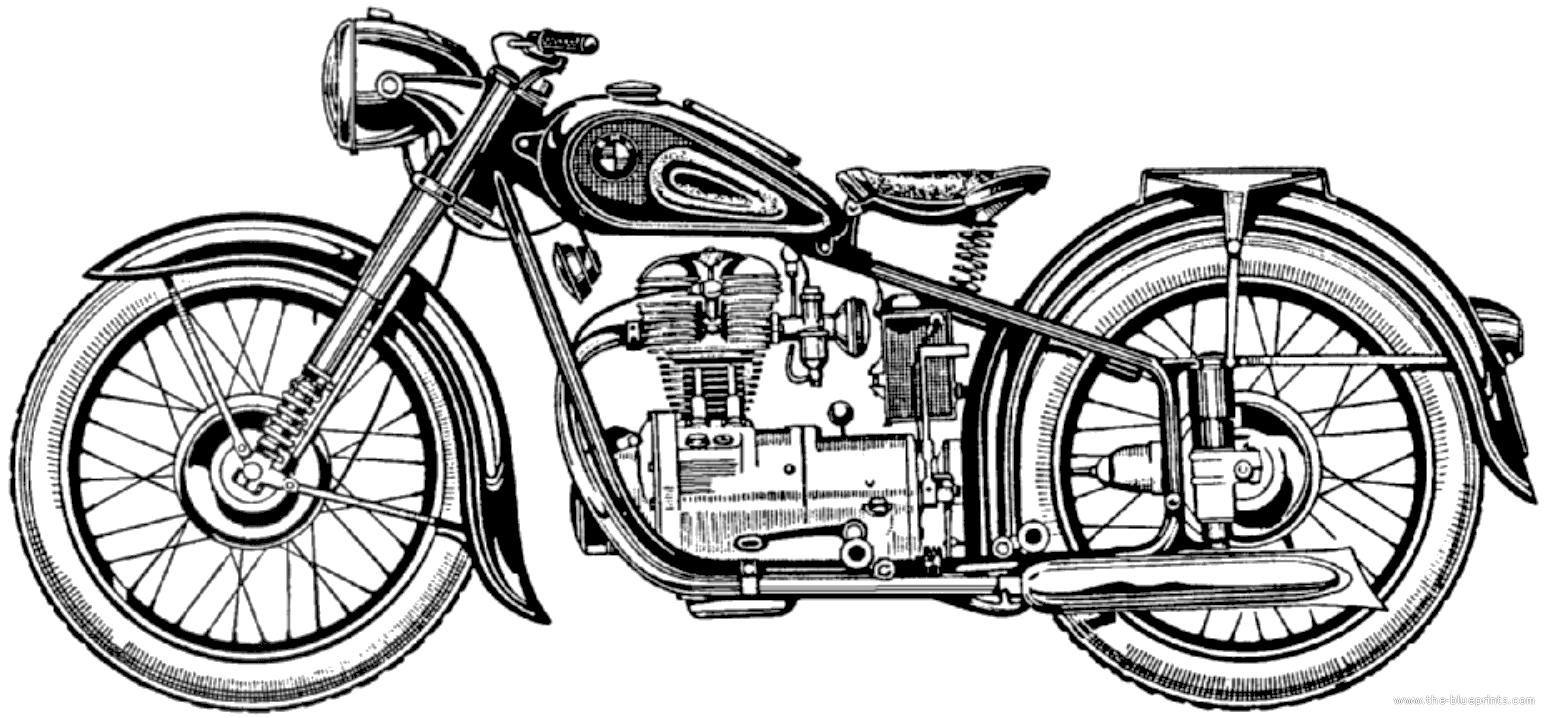 BMW R25 1950 - 5