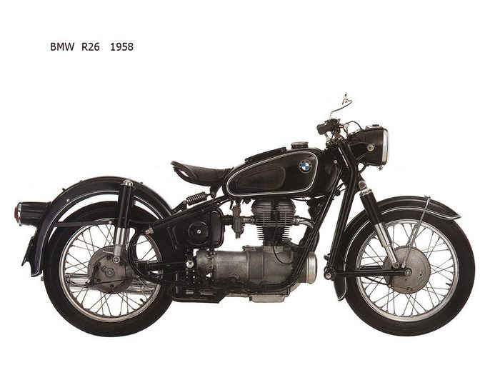miniature BMW R26 1960 - 4