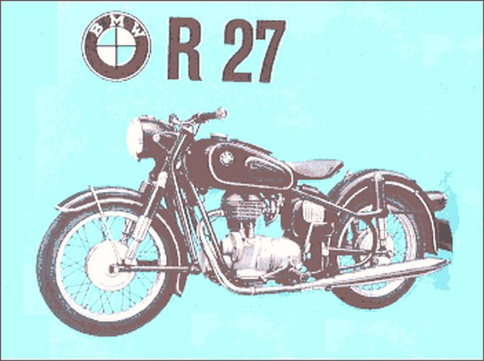 miniature BMW R27 1961 - 3