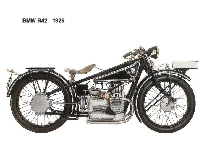 miniature BMW R42 1928 - 3
