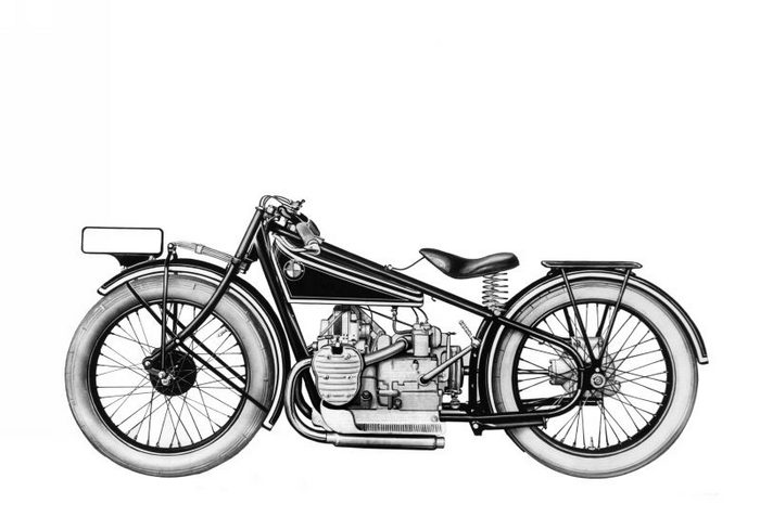 miniature BMW R42 1928 - 2