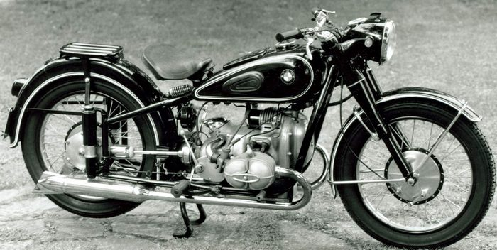 miniature BMW R51/2 1950 - 3