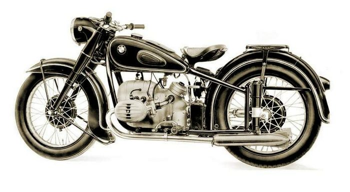 miniature BMW R51/2 1950 - 2