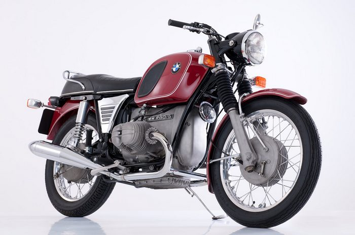 miniature BMW R60/5 1970 - 7