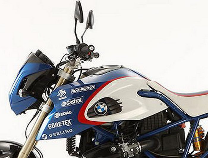 BMW HP2 Megamoto 1200 PIKES PEAK edition 2009 - 4