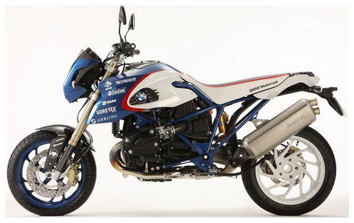 BMW HP2 Megamoto 1200 PIKES PEAK edition 2009 - 2