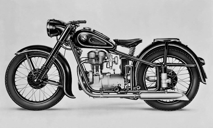 bmw r25 1950 fiche moto motoplanete. Black Bedroom Furniture Sets. Home Design Ideas