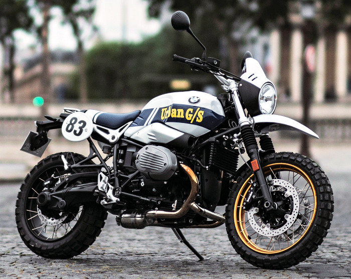 BMW 1200 R Nine-T Urban G/S Dakar Series #1