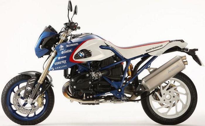 Bmw Hp2 Megamoto 1200 Pikes Peak Edition 2009 Fiche Moto