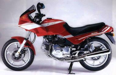 Cagiva 650 Alazzurra