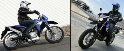 Yamaha DTX 125 2006 vs Yamaha XT 125 X 2006