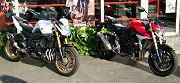 Yamaha 800 FZ8 2011 vs Suzuki GSR 750 2011