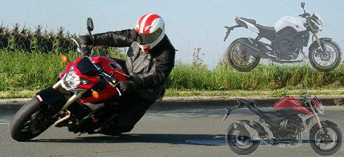 Oli compare la Yamaha FZ8 à la Suzuki GSR 750