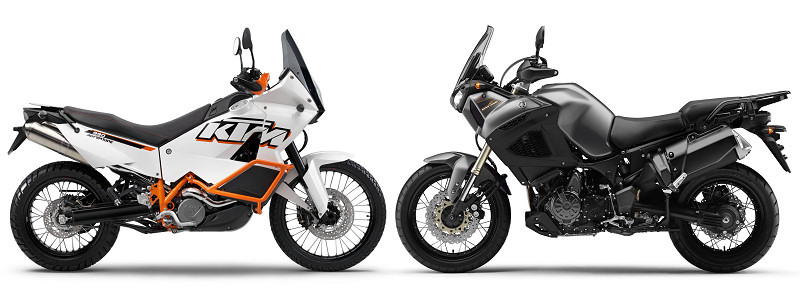 KTM 990 Adventure 2012 / Yamaha XTZ 1200 Super Ténéré 2012