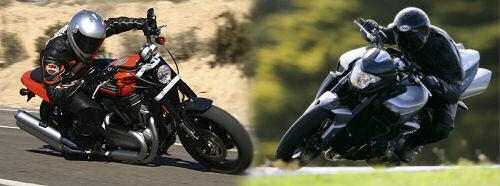 Harley-Davidson XR 1200 Sportster 2010 vs Suzuki B-KING 1300 2010